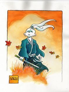 Original Comic Art titled Usagi Yojimbo - Cartoon Art Museum, located in Mat's Usagi Yojimbo (Stan Sakai) Comic Art Gallery Comic Book Characters, Comic Books Art, Comic Art, Disney Characters, Book Art, Akira, Cartoon Art Museum, Usagi Yojimbo, 90s Cartoons