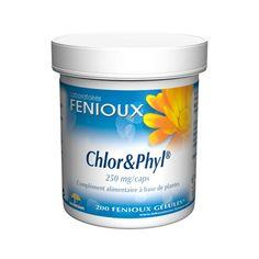 Chlor & Phyl® Fenioux  !!! Permet d'éliminer les métaux lourds (e.a. dans les vaccins, médicaments, eau robinet...)