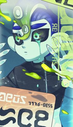 Splatoon 2 Game, Splatoon Memes, Nintendo Splatoon, Splatoon Comics, Dark Drawings, Squid Games, Fandom, Game Art, Amazing Art