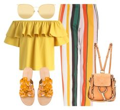 Bez tytułu #280 by glirendree on Polyvore featuring moda, Chicwish, Finery London, See by Chloé, Chloé and Linda Farrow