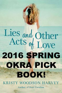 THRILLED that Lies and Other Acts of Love was chosen as an Okra Pick! #liesandotheractsoflove