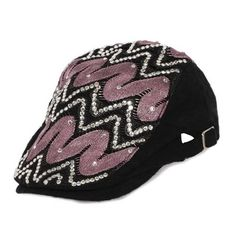 9a4b15bf5f7 Best Fuchsia Studded Gothic Hipster Fashion Kangol Hats Caps Men Women  SKU-71108015