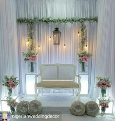 Diy Wedding Photo Booth Indoor 46 New Ideas Diy Wedding Photo Booth, Rustic Wedding Backdrops, Wedding Chair Decorations, Wedding Stage, Wedding Rustic, Backdrop Wedding, Wedding Wreaths, Wedding Flowers, Wedding Dresses