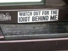 Not Your Average Bumper Stickers - Gallery | eBaum's World