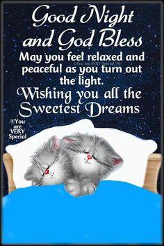 Goodnight My Love Good Night Cat, Good Night Love Quotes, Good Night Prayer, Cute Good Night, Good Night Blessings, Good Night Messages, Good Night Wishes, Good Night Image, Night Quotes