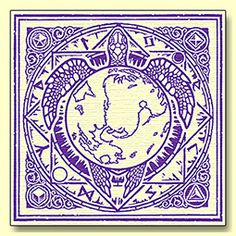 Discworld Icon - Canvas Print