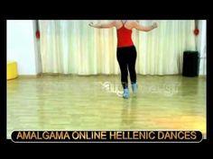 ZORBA THE GREEK SYRTAKI DANCE LESSON Part 1 - YouTube