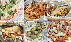 Tin Foil Dinner Ideas grill, dinner ideas, tin foil dinners
