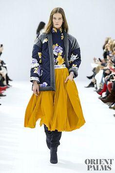 Léonard Paris Fall-winter - Ready-to-Wear Fashion Week Paris, Fashion Week 2018, Autumn Fashion 2018, 50 Fashion, Winter Fashion Outfits, Fall Fashion Trends, Latest Fashion Trends, Runway Fashion, Fashion Brands