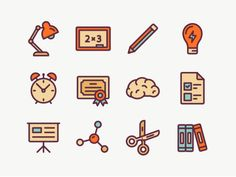 School Icons: Part 4! by Oleg Levin