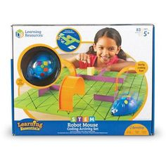 Teach your little engineer hands-on coding skills with this Learning Resources Learning Essentials STEM Robot Mouse Coding Activity Set. Science Toys, Preschool Science, Stem Learning, Learning Resources, Learn To Code, Play To Learn, Kids Awards, Best Kids Toys, Teaching Materials