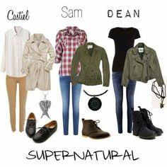 Definitely want, definitely would wear.  Supernatural female costumes