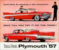 Plymouth 1957 ad