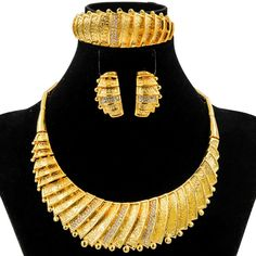 Cheap jewelry sets women, Buy Quality african beaded jewelry directly from China dubai jewelry Suppliers: Liffly Fashion Dubai Jewelry Gold African Beads Jewelry Set Women Wedding Geometric Crystal Big Necklace Fine Handmade Jewelry Enjoy ✓Free Shipping Worldwide! ✓Limited Time Sale ✓Easy Return.