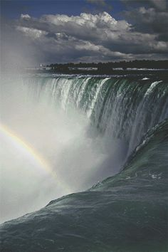 Niagara Falls, between Canada, the United States. …