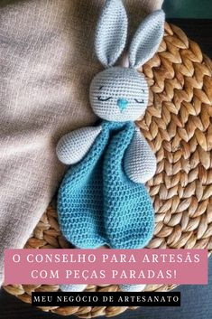 Crochet Bunny Pattern, Crochet Rabbit, Crochet Animal Patterns, Amigurumi Patterns, Crochet Animals, Cute Bunny, Bunny Rabbit, Little Cotton Rabbits, Bunny Toys