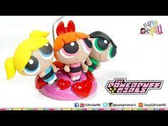 Powerpuff Girls Polymer Clay / Chicas Super Poderosas de Arcilla Polimérica