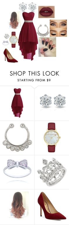 """my future prom"" by twincity061002 on Polyvore featuring Miss Selfridge, Kate Spade and Sam Edelman"