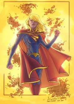 Super Girl by Guile Sharp
