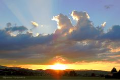 Sunset Uetendorf by meyer werner on Clouds, Sunset, Outdoor, Pictures, Sunsets, Outdoors, Outdoor Games, Outdoor Living