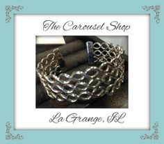 Another great cuff at only $1.50 on sale as of 9/17/14 at the Carousel Shop in La Grange, IL at 27 W. Calendar Ave.