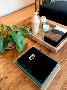 coffee table styling