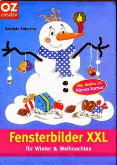 OZ - Fensterbilder XXL - Winter und Weihnachten - Angela Lakatos - Picasa Webalbumok