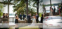Lake wedding. Oh my goodness, this is what i want.