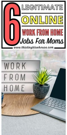 Are you a stay at home mom looking to make some money from home? Here are 6 legitmate work from home jobs that offer stability and extra income for moms. Online Work From Home, Work From Home Jobs, Stay At Home Mom, Make Money From Home, Ways To Save Money, How To Make Money, Teaching English Online, Easy Work, Work From Home Opportunities