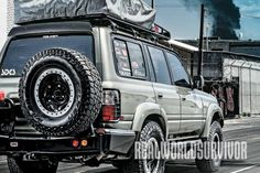 bug out, bug out car, bug out vehicle, bug out truck, land cruiser, toyota land cruiser, FZJ80 toyota land cruiser, land cruiser rear