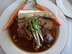 Roasted Beef Tenderloin from aboard The Napa Valley Wine Train