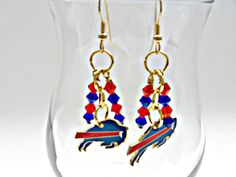 Check out this item in my Etsy shop https://www.etsy.com/listing/253722339/buffalo-bills-football-earringsbuffalo