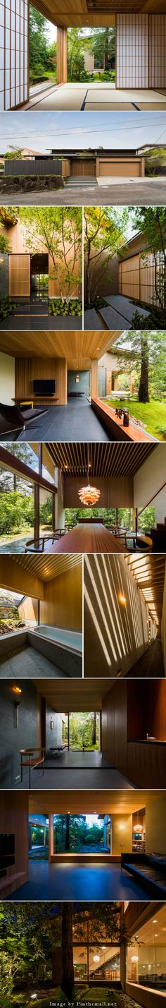 house in nara by uemachi forges relationship with nature - Designboom - created via http://pinthemall.net