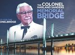 Ky. drivers could soon be crossing Col. Sanders bridge / USA TODAY News / April 8th, 2014 http://www.usatoday.com/story/news/nation/2014/04/08/kfc-wants-to-name-bridge-after-colonel-sanders/7453535/?csp=fbfanpage