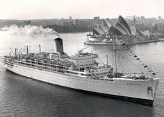 SS Himalaya - P&O Cruise Ship Built by Vickers Armstrong at Barrow in Furness, launched on the October 1948 and sailed on her maiden voyage on October She remained in service until October 1974 when she left Sydney for the breakers yards in Taiwan. Merchant Navy, Merchant Marine, Carnival Corporation, Barrow In Furness, P&o Cruises, German Submarines, Himalaya, Ocean Cruise, Australia Travel