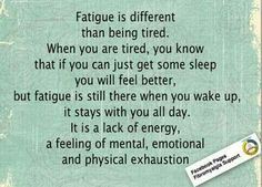 how to treat chronic fatigue
