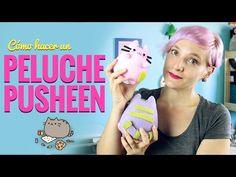 Cómo hacer un PELUCHE de PUSHEEN!! Manualidades fáciles con Miss Little Zombie - YouTube