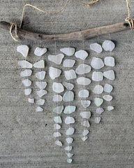 Image result for sea glass wind chimes