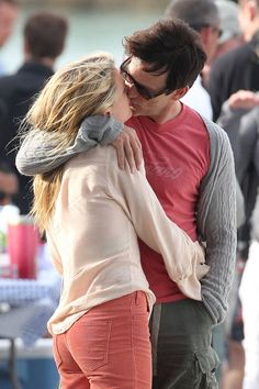 Anna Paquin and Stephen Moyer, I love them so much can't wait for true blood to start back up!