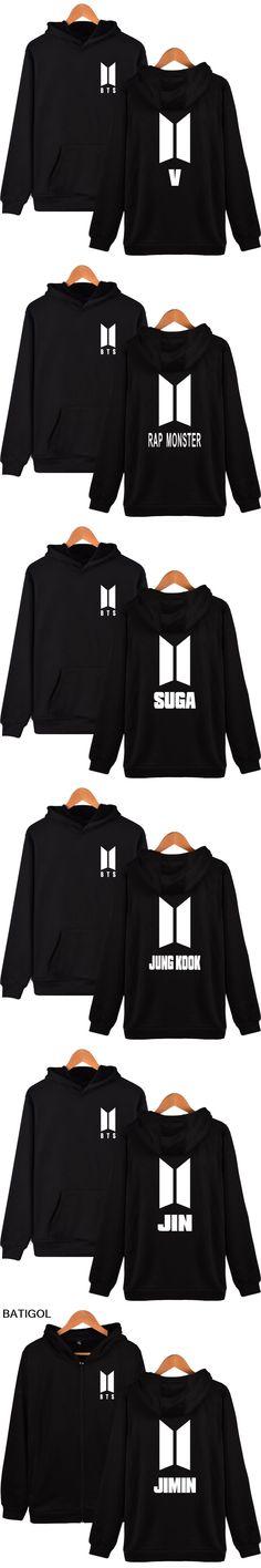 BATIGOL BTS K-pop Hooded Harajuku Hoodies men Korea Pop Bangtan Hip Hop Sweatshirt men Hoodies Kpop Fans male Clothes