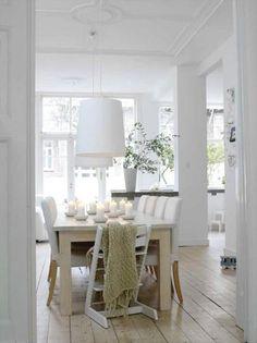 Witte huis inrichting van Paula Eklund