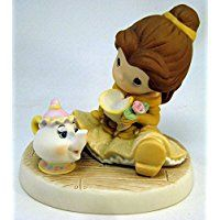 Precious Moments Disney You Are So Tea-Lightful Belle with Teacup & Teapot