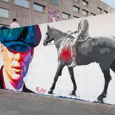"Don Quixote and his delusions', as this new mural was titled, is a colourful collaborative contribution by street artists Laguna, Skount and Emilio Cerezo, recently painted in Barcelona for the CSIO Championship. Curated by Sara Catalán, the new mural is inspired by Miguel de Cervantes depiction of Don Quixote and his illusions as described in his master piece  ""Don Quijote de La Mancha"". The lively scene"