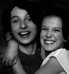 I don't ship Fillie (but Mileven is the best!!) but this picture is so cute! They're friendship is adorable, all of them are