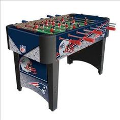 #NewEngland #Patriots Foosball Table