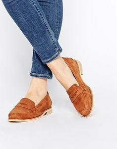 ASOS MARS Suede Loafers