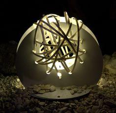 Gipsy Flowers-Rose-lamp-Design by Alessandro Vangone.
