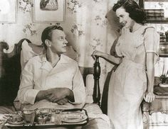 Joseph Cotten with Patricia Wright in 'Shadow of a Doubt' (1943)