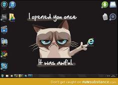 Internet Explorer (BEST WALLPAPER EVER)