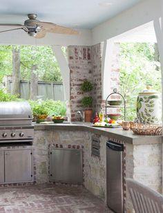 47 incredible outdoor kitchen design ideas on backyard (18)